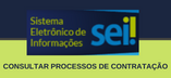 Link para consulta de processos de licitação e contratação